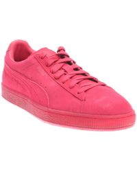 PUMA - Red Suede Classic Ice Mix - Lyst