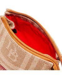 Dooney & Bourke - Multicolor Db Plaid Jacquard Cosmetic Case - Lyst