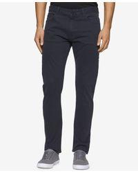 Calvin Klein Jeans - Multicolor Slim Cotton Straight Leg Jeans for Men - Lyst