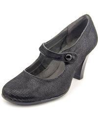 Aerosoles - Black Role Though Closed Toe Casual Mule Sandals - Lyst