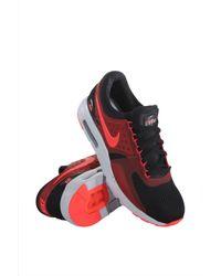 the latest f6018 fe5f1 Men s 876070-007 Air Max Zero Essential Black Bright Crimson Gym Red