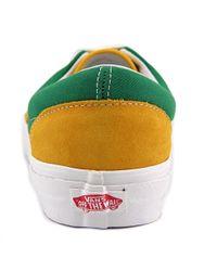 Vans - Multicolor Era Youth Us 11.5 Yellow Skate Shoe for Men - Lyst