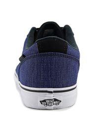 Vans - Chapman Stripe Men Us 11 Blue Sneakers for Men - Lyst