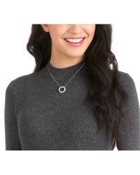 Swarovski - Multicolor Hilt Necklace - White - Rhodium Plating - 5353521 - Lyst