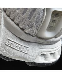 new product 2a729 901d3 Mens White Climacool 1 Laceless Shoes