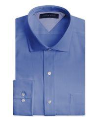 Tommy Hilfiger - Men's Big & Tall Classic-fit Non-iron Empire Blue Dress Shirt for Men - Lyst