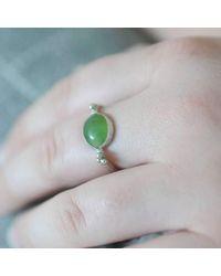 Rebecca Pratt Jewellery - Multicolor Chrysoprase Ring - Lyst