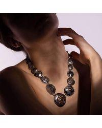 Katarina Cudic - Multicolor Circles Identity Necklace - Lyst
