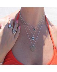 Dune Jewelry - Multicolor Sterling Sunburst Necklace - Lyst