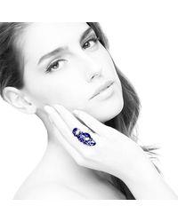 Diuss Fine Jewelry - Edua Romantic Ring Blue - Lyst