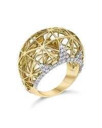 Ivanka Trump - Metallic Liberté Dome Ring - Lyst
