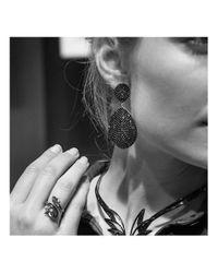 Latelita London - Multicolor Monte Carlo Earring Rose Gold Amethyst Zircon - Lyst
