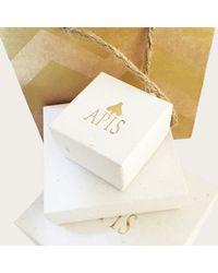 Apis Atelier - Metallic Gaia Earrings - Lyst