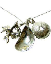 Beryl Dingemans Jewellery - Metallic Silver Chintsa Shell Necklace - Lyst