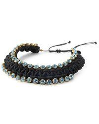 BuDhaGirl - Blue Smn Bib Necklace - Lyst