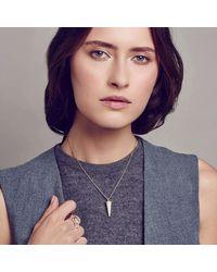 Georgina Boyce Fine Jewellery - Multicolor Rose Gold Apex Pendant - Lyst