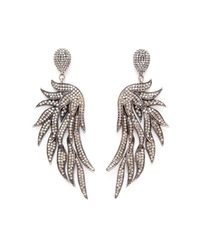 Carole Shashona - Metallic Fire Wing Earrings - Lyst