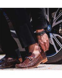 MARCOS DE ANDRADE - Morning Star Spike Bracelet In Titanium Black for Men - Lyst