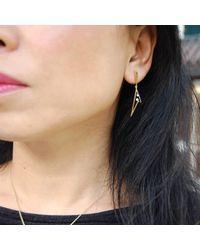 Kaych Fine Jewellery - Metallic Long Wing Earrings Yellow Gold - Lyst