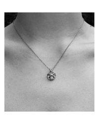 Zalisander - Metallic 9kt Gold Annulars Pendant - Lyst