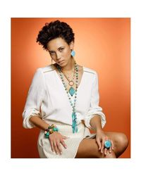 Devon Leigh - Multicolor Stretch Bracelet - Lyst