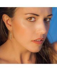 Kaali Designs - Multicolor Ragazza Rose Gold Earrings - Lyst