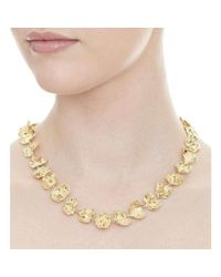 Joseph Lamsin Jewellery - Metallic Gold Vermeil Rippled Necklace - Lyst