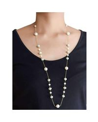 M's Gems by Mamta Valrani - Multicolor Sea Breeze Chain With Mother Of Pearl And Enamel Beads - Lyst