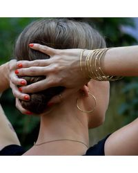 Stephanie Gorski Jewelry - Multicolor Branch Hoop Earrings - Lyst