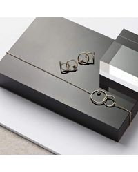 Monarc Jewellery - Metallic Meridian Light Necklace - Lyst