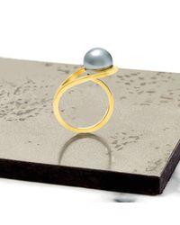 Neola | Metallic Aurea Gold Ring | Lyst