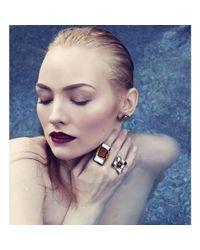 Hailstones Glass Jewels - Multicolor Ousilla Jewel Ring - Lyst