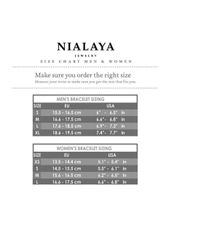 Nialaya - Multicolor Himalaya Bracelet With Matte Onyx - Lyst
