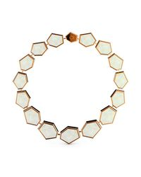 MARCELLO RICCIO   Metallic Mother Of Pearl Bracelet   Lyst