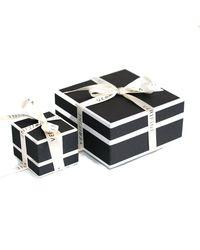 Verifine London - Multicolor Black Diamond Line Bracelet In 18ct White Gold - Lyst