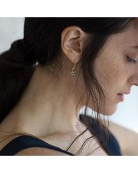 Francesca Lacagnina - Metallic Nysa Earrings - Lyst