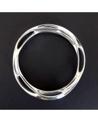 VerticesEdge | Multicolor Curvaceous Twist N Flow Round Bracelet | Lyst