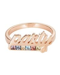 Maria Kovadi Fine Jewellery - Multicolor Party Ring With Multicolour Spinels - Lyst
