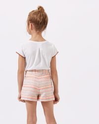Jigsaw - Multicolor Striped Jacquard Shorts - Lyst