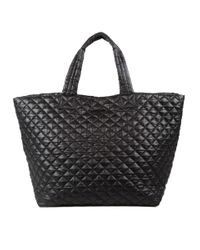 MZ Wallace | Large Metro Tote Black | Lyst
