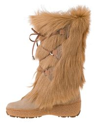 Pajar - Davos Snow Boot Natural - Lyst