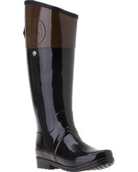 Hunter - Brown Carlyle Rain Boot Milk Chocolate Rubber - Lyst