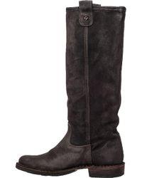 Fiorentini + Baker - Brown Eternity Effie Suede Knee-High Boots - Lyst