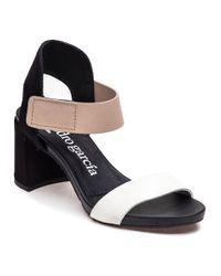 Pedro Garcia - Willa Black/white/beige Sandal - Lyst