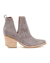 Jeffrey Campbell - Brown Asterial Boot Taupe Suede Silver - Lyst