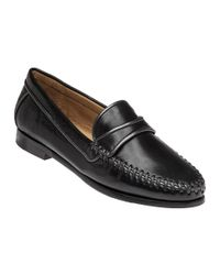 Robert Zur | Black Aria Leather Loafers | Lyst