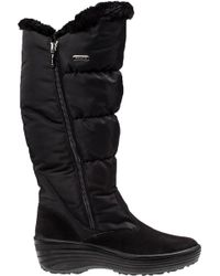 Pajar - Amanda Snow Boot Black Fabric - Lyst