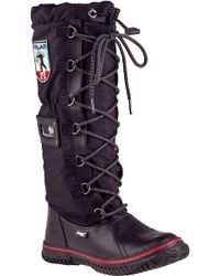 Pajar - Grip Classic Tall Boot Black Fabric - Lyst