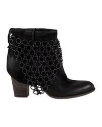 275 Central - Elkan Ankle Boot Black Leather - Lyst