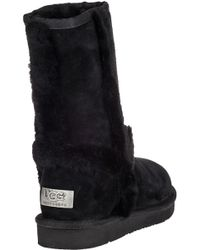 Ugg - Carter Ankle Boot Black Suede - Lyst